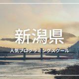 新潟県 プログラミングスクール