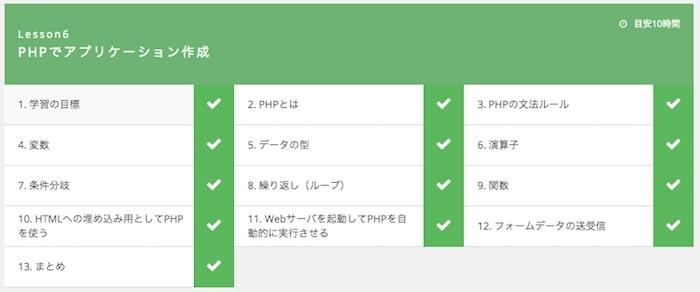 PHPを勉強する
